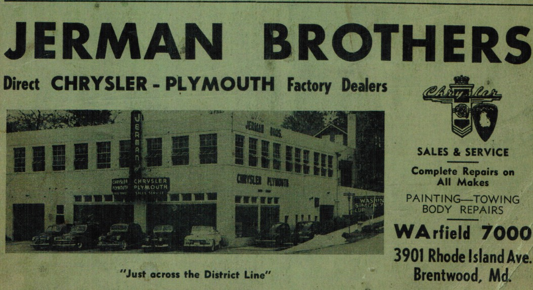 Jerman Brothers Chrysler-Plymouth