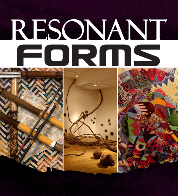 """Resonant Forms"" - Alonzo Davis,  Martha Jackson-Jarvis, Frank Smith"